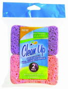 Clean Up Cellulose Sponge Nail Guard, 2-Pack