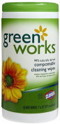 Green Works Natural Wipes-62 ct