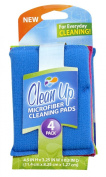 Clean Up Microfiber Cleaning Pads, 4-Pack
