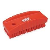 Nail Brush, Red, 45/64 Trim L, PET
