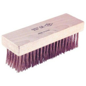 Scratch Brushes - 6x19row flat back rnd wire brush