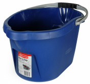 Rubbermaid FG4D7303ROYBL Neat'n Tidy Round Bucket, 14.2l, Blue