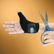 3810-BK Orthosis Thumb Trimable Neoprene Universal Black Part# 3810-BK by Hely & Weber Qty of 1 Unit