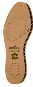 Pedag 172 Leather Naturally Tanned Sheepskin Insole with Activated Carbon, Tan