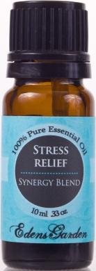Stress Relief Synergy Blend Essential Oil- 10 ml (Bergamot, Patchouli, Blood Orange, Ylang Ylang & Grapefruit)