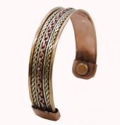 Powerful Magnetic Copper Cuff Bracelet