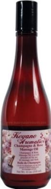 Keyano Aromatics Champagne & Rose Massage Oil 350ml