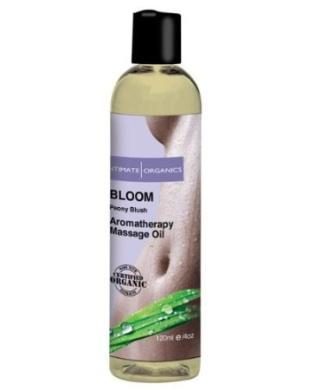 Intimate Organics Bloom Massage Oil w/Peony Blush - 120ml