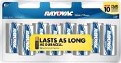 Rayovac Alkaline Batteries, C Size, 1.42 Pound