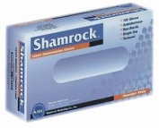 Shamrock 10000 Series Powder Free Textured Latex Examination Gloves - Sold by the Case