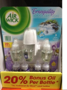 Air Wick Oil Warmer and 7 Scented Oil Refill, 3 Fresh Waters 4 Lavender