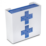TrippNT 51048 Priced Right Double Glove Box Holder with Medical Cross, 28cm Width x 25cm Height x 10cm Depth