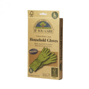 If You Care Large Cotton Flock Lined Household Gloves, 1 Pair