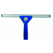 Continental 2473, ABS Plastic Complete Window Squeegee with 36cm Channel and Rubber Blade, 36cm Length, Blue