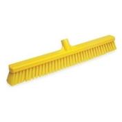 Wide Floor Broom, Medium, Yellow