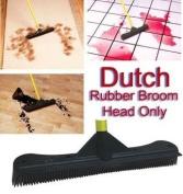 Dutch Rubber Broom 30cm Head- 30cm Rubber Broom Head Only