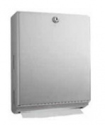 7127947 PT# B-262 Dispenser Paper Towel C-Fold/ Multi Fold 30cm SS Surface Mount Ea Made by Bobrick