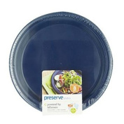Preserve Large Reusable Plates - Midnight Blue - Case of 12 - 8 Pack - 27cm - HSG-401703