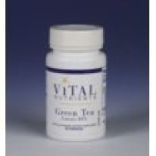 Vital Nutrients Green Tea Extract 80% Catechins 275mg 60 Capsules