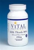 Milk Thistle 80% 250 mg 60 Capsules
