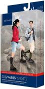Sigvaris Merino Outdoor Performance Wool Socks 20-30mmHg Closed Toe, SS, Charcoal