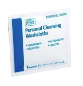 PDI HYGEA PERSONAL CLEANSING WIPES Personal Cleaning Washcloths, Individually Packed, 400/cs