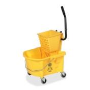GJO60466 - Genuine Joe Splash Guard Mop Bucket/Wringer