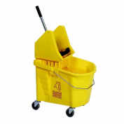 Continental 335-37YW, Splash Guard and Backsaver Combo Set with Down-Press Wringer, Yellow