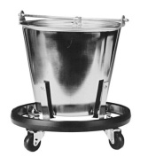 Grafco Stainless Steel Kick Bucket and Stand Set, 12 ½ qts Capacity, 1/Ea, GHF3267