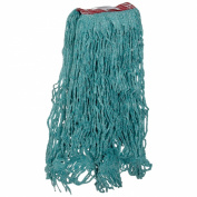 Rubbermaid Commercial FGD21306 Super Stitch Blend Mop, Large, 2.5cm Red Headband, Green