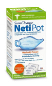 Sinucleanse Neti-Pot System KIT AS SEEN ON TV, Free 30 salt packets, Helps Breathe Easier