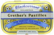 Grether's Sugarless Black Currant Pastilles 60ml pastilles