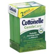 Cottonelle Cleansing Cloths, Flushable, Refills 2 - 42 cloth packs [84 cloths]