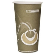 Eco-Products EVOLUTION WORLD 24% PCF HOT DRINK CUPS, 590ml, grey