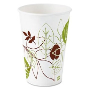 Dixiereg; - Pathways Polycoated Paper Cold Cups, 350ml, 1200/Carton - Sold As 1 Carton - Two-sided polycoated.