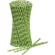 Bamboo Paper Drinking Straws 25 ct. - Twilight Parties