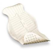 AquaSense Non-Slip Bath Mat with Invigorating Massage Zones, Small