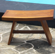 Double Asia Teak Shower Stool or Bench