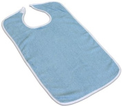 3 Terry Adult Bib with hook and loop Closure
