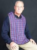 Flannel Adult Bib (2pk)