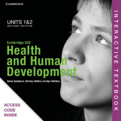 Cambridge VCE Health and Human Development Units 1 and 2 Interactive Textbook