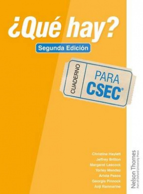 ?Que Hay? Cuaderno Csec Second Edition
