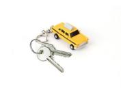 Taxi LED Keychain