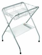 Primo Folding Bath Stand, Silver Grey