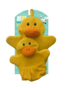 Animal Planet Mommy and Baby Wash Mitts, Duck