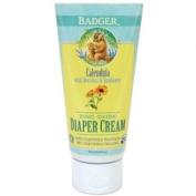 Badger Zinc Oxide Nappy Cream, Calendula