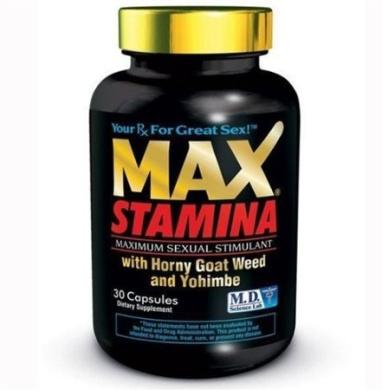 MaxStamina - Sexual Stimulant (30)