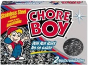 """Spic & Span 105400cm Chore Boy"""" Stainless Steel Scouring Pad, 2-Pack"""