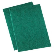 Premiere Pads - Medium-Duty Scour Pads Med Duty Scrubber Thi -Green