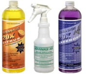 ADVANAGE 20X Multi-Purpose Cleaner Citrus & Lavender 2 Pack - Manufacturer Direct - Our Newest Formula!
